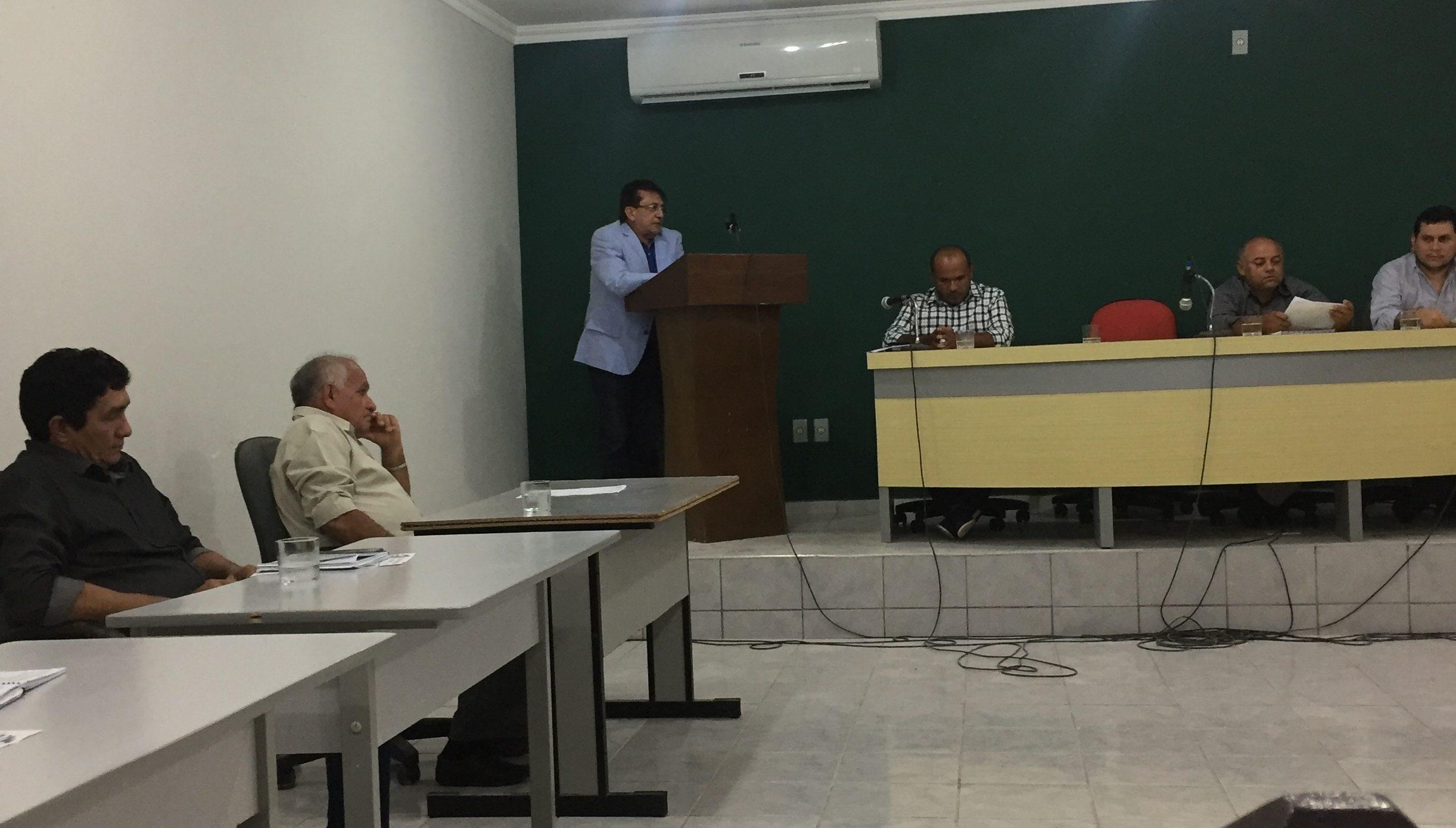 Câmara Municipal de Cajueiro da Praia inicia seus trabalhos legislativos de 2018 com mensagem do executivo