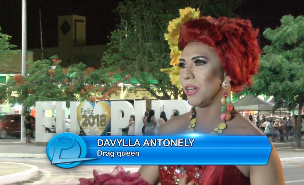 Conheça a Drag Queen Davylla Antonely que produz e vende chocolates em Parnaíba