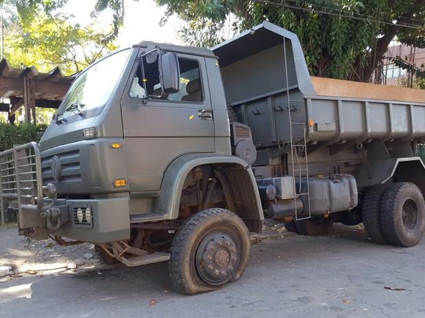 Caminhão do Exército é apreendido com drogas na região de Campinas