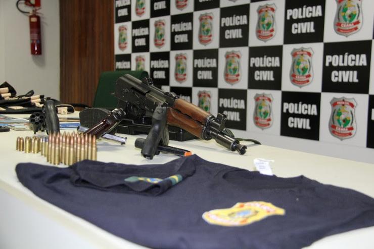 Quadrilha que usava farda da PF em assaltos em Parnaíba é presa no Ceará
