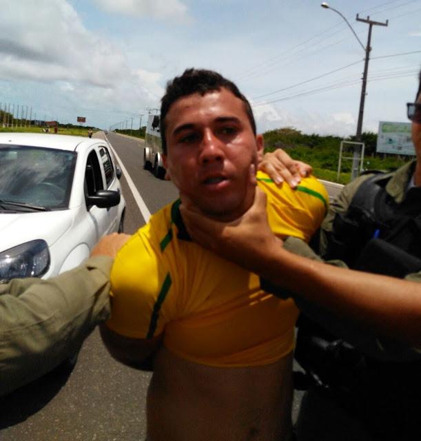 Homem é preso por se masturbar em via pública nas proximidades do Residencial Caminho Da Alvorada em Parnaíba
