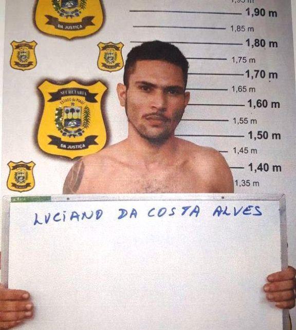 Polícia Militar captura em Parnaíba foragido de penitenciária acusado de tráfico e homicídio