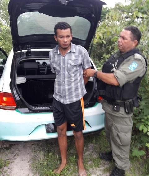 Jovem de 20 anos acusado de estuprar idosa de 69 anos é preso em Buriti dos Lopes