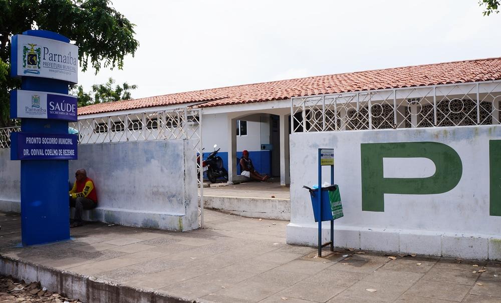 Situação do Pronto Socorro Municipal de Parnaíba é precário sem médico para atender a população