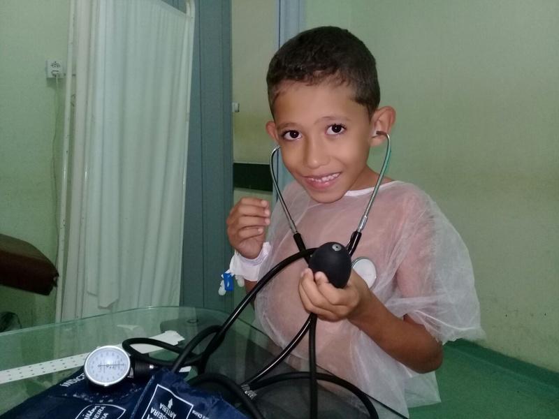 Mutirão atende 40 crianças no Hospital de Floriano
