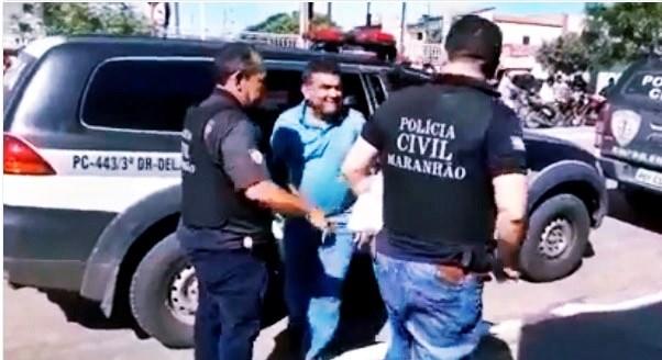 Ex-prefeito de Santa Quitéria Manin Leal é preso pelo Gaeco