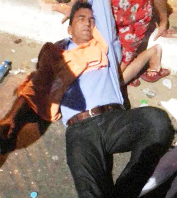 Tererê é atropelado por motocicleta na Ladeira do Uruguai em Teresina