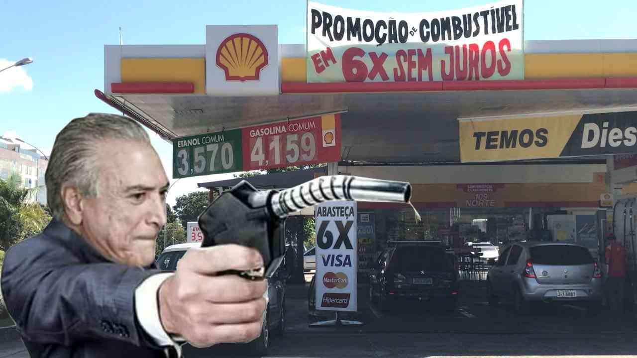 Gasolina fica 1,28% mais cara a partir de amanhã (16)