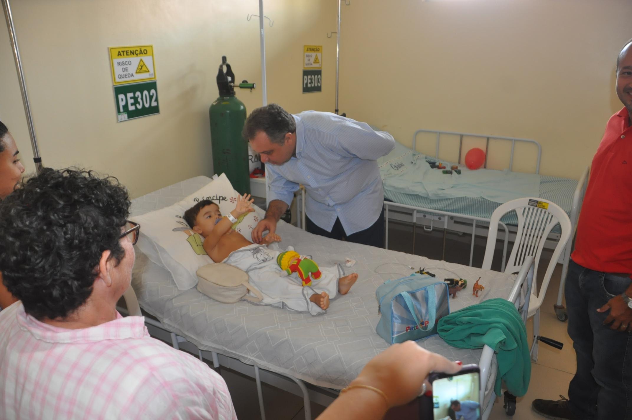 Secretário Florentino Neto acompanha Mutirão de Cirurgias Pediátricas no HEDA em Parnaíba