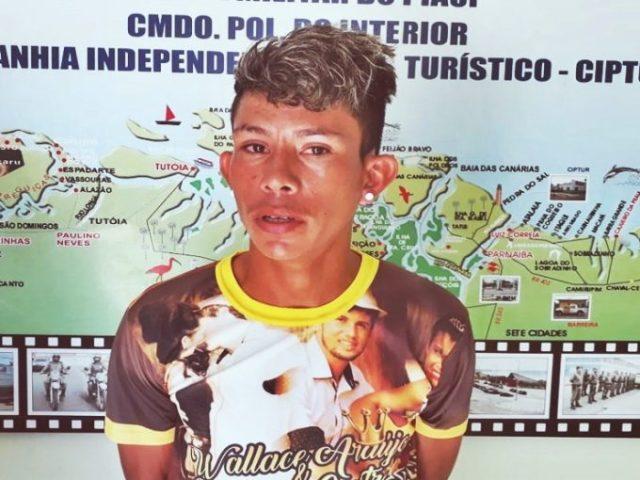 Jovem acaba preso por estupro de vulnerável em Cajueiro da Praia