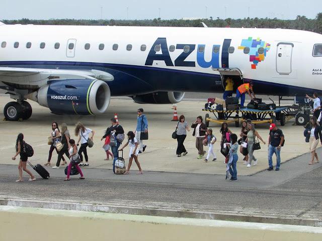 Azul coloca voos extras de fim de ano e ano novo para Parnaíba