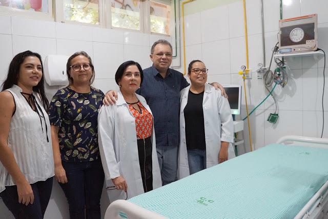 PARNAÍBA: Inaugurada sala de estabilização pediátrica no Hospital Dirceu Arcoverde