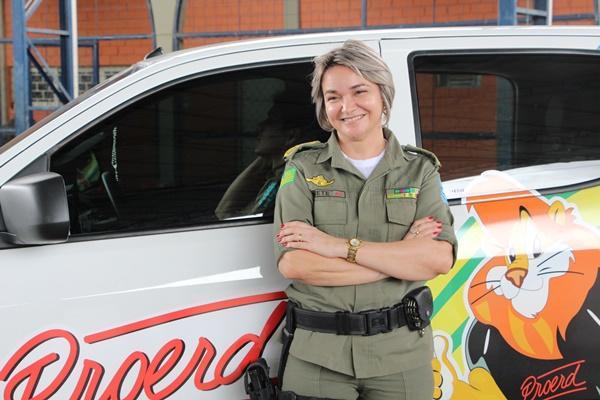ELA NÃO GOSTOU: 'Se Dr. Pessoa sair para Federal, eu nem me filio ao partido', afirma major da PM Elizete Lima