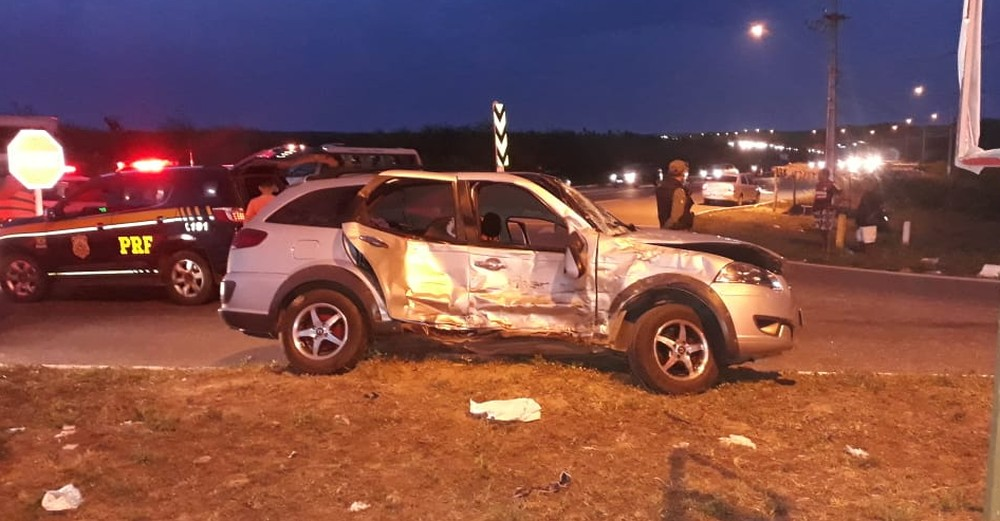 Em Parnaíba: Acidente deixa um morto e outros cinco feridos na BR 343