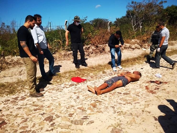 ACERTO DE CONTAS! Homem é executado com tiros na cabeça próximo a Lagoa do Portinho