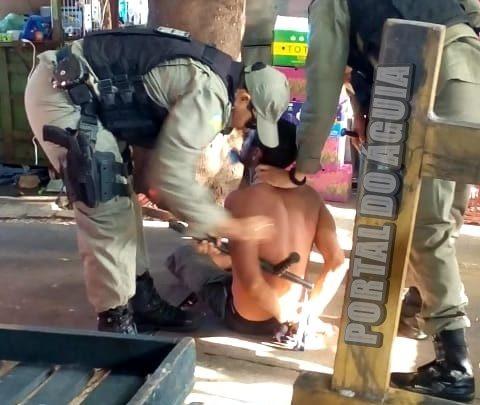 Homem é preso em flagrante por matar gatos para fazer espetinhos em Parnaíba