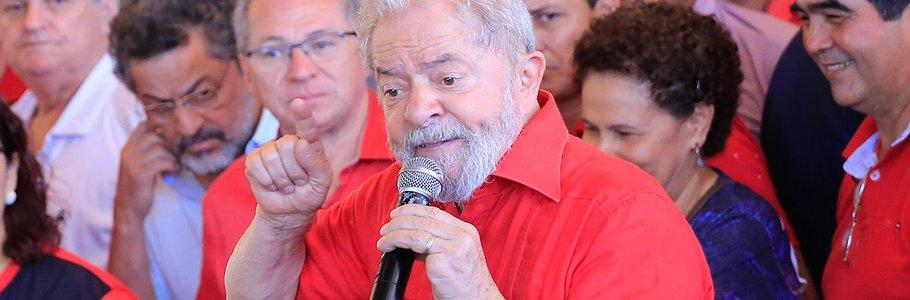PT vai protocolar candidatura do ex-presidente Lula no TSE nesta quarta-feira