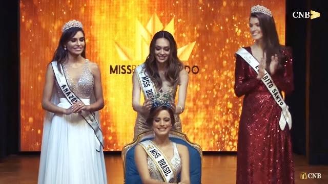 Estudante de Parnaíba vence Miss Brasil Mundo 2018; Vídeo