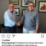 Presidente da Câmara de Vereadores, Geraldo Alencar, troca Heráclito Fortes por Flávio Nogueira