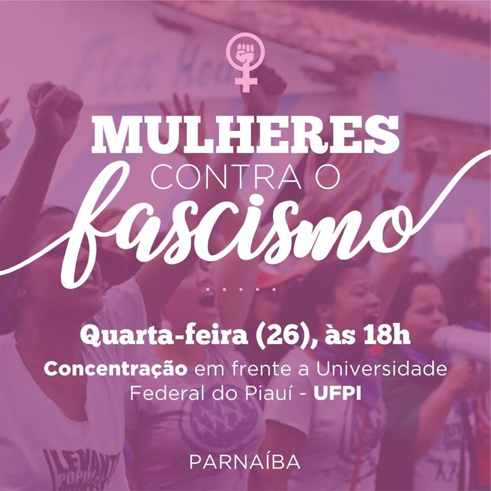 #ELENÃO: Mulheres contra o fascismo em Parnaíba