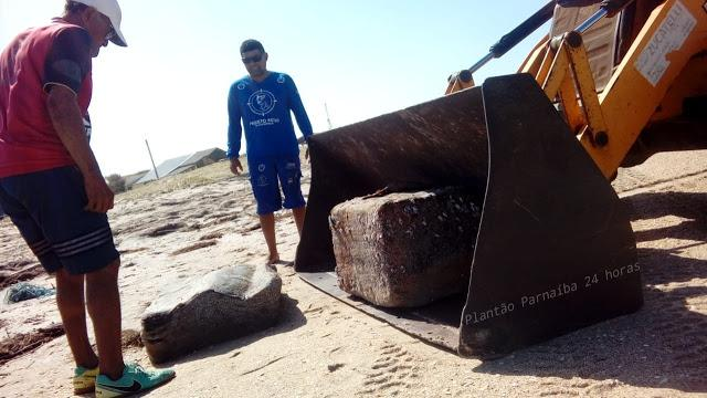 Aumenta para 42 os pacotes de origem desconhecida que foram encontrados no litoral do Piauí