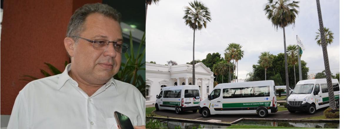 Governo do Estado entrega veículos para atenção básica de 16 municípios