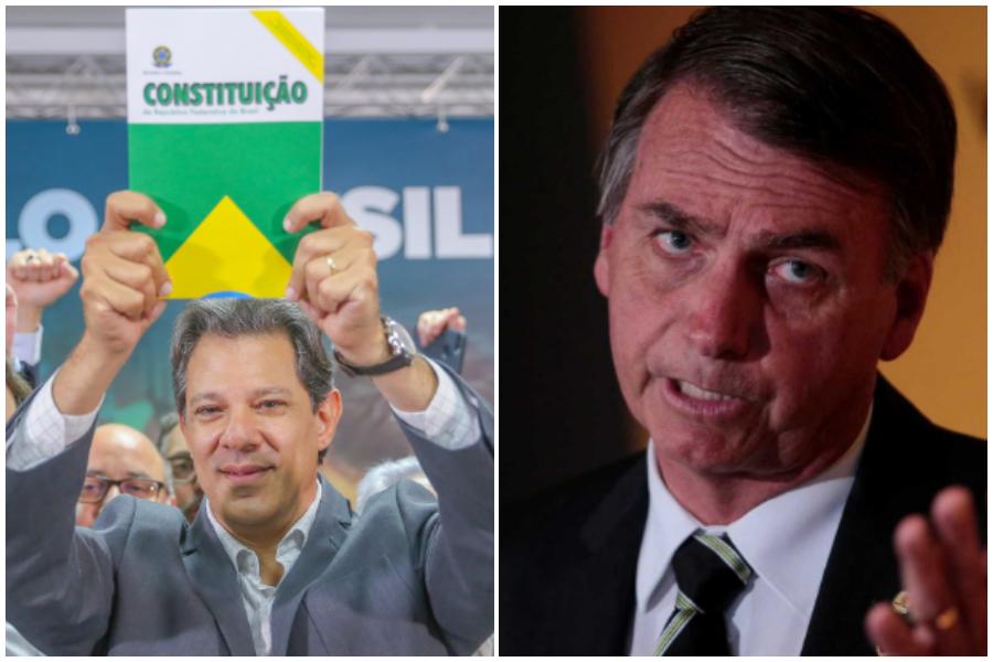 Vox Populi: Haddad cresce e chega a 47% dos votos válidos; Bolsonaro tem 54%