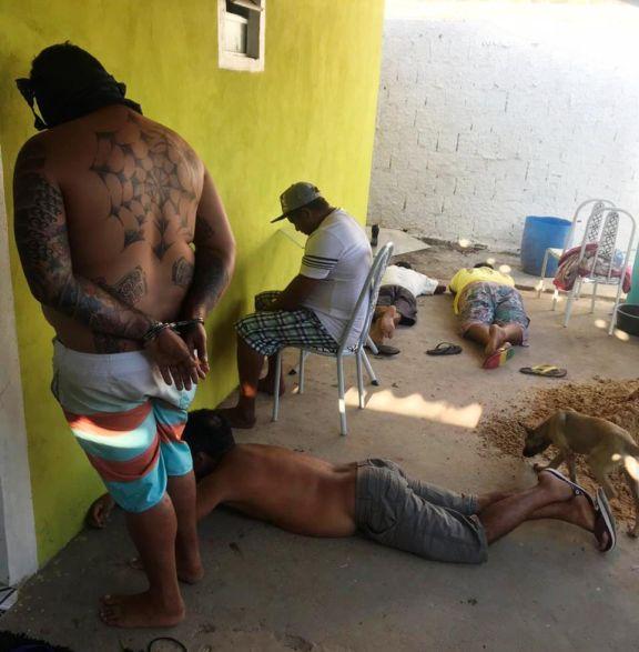 Polícia prende quadrilha por tráfico de drogas em Luís Correia