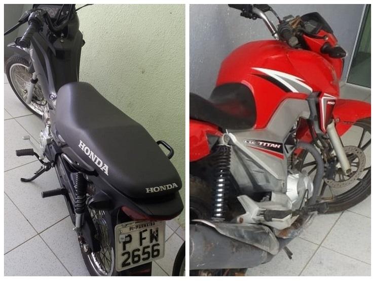 CIPTUR recupera motos roubadas em Luís Correia
