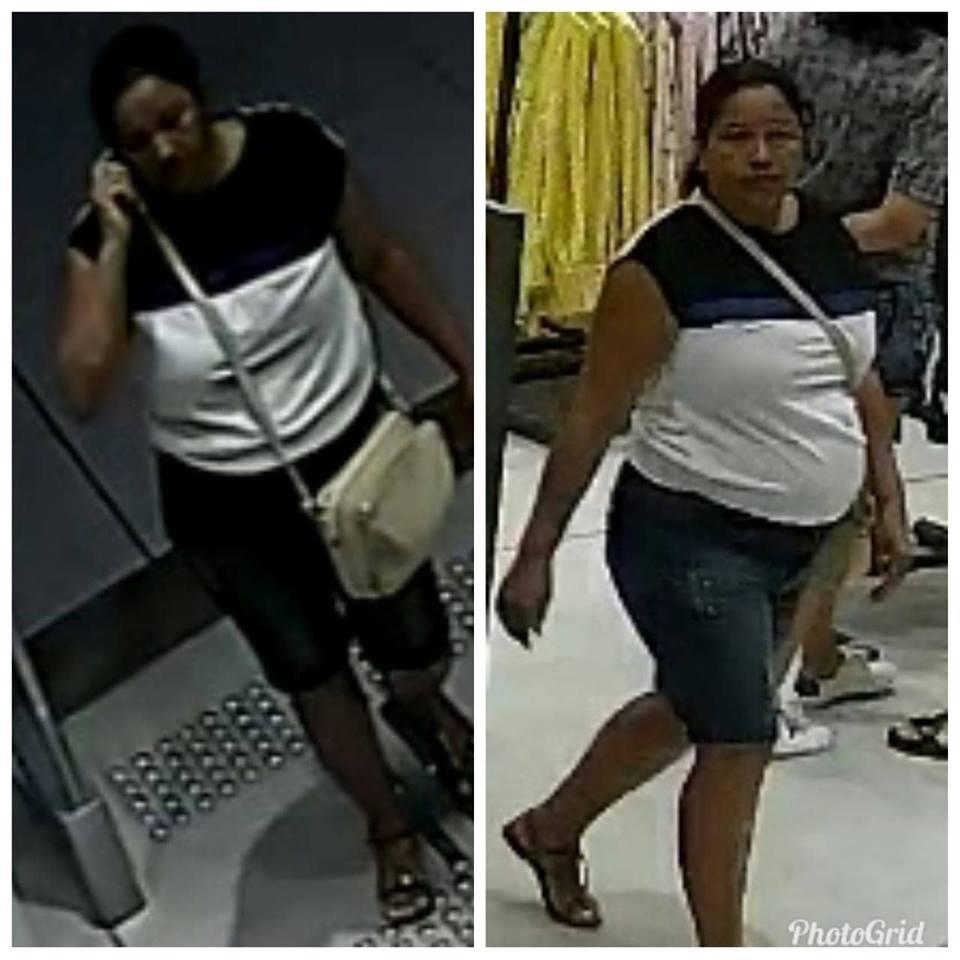 Delegacia de Crimes contra o Patrimônio divulga imagens de pessoas suspeitas de furto no Parnaíba Shopping