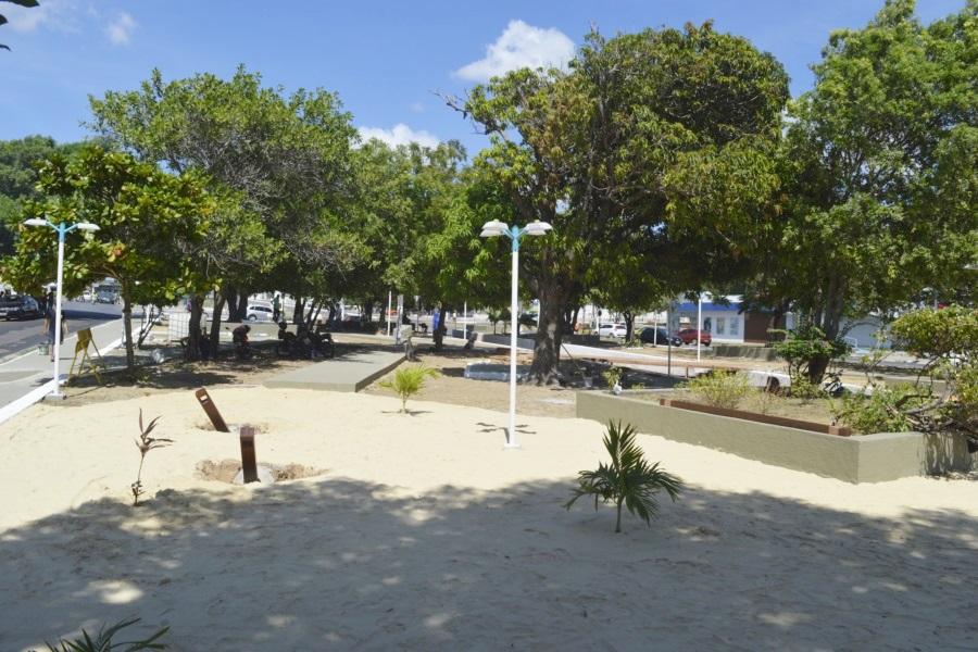 Apesar da crise, Prefeitura de Parnaíba gastará mais de R$ 5 milhões com paisagismo de praças