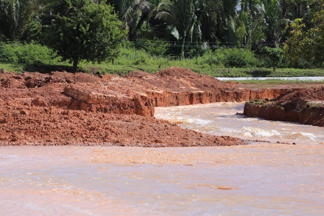 Aumento do nível da água na Barragem do Bezerro preocupa gestores