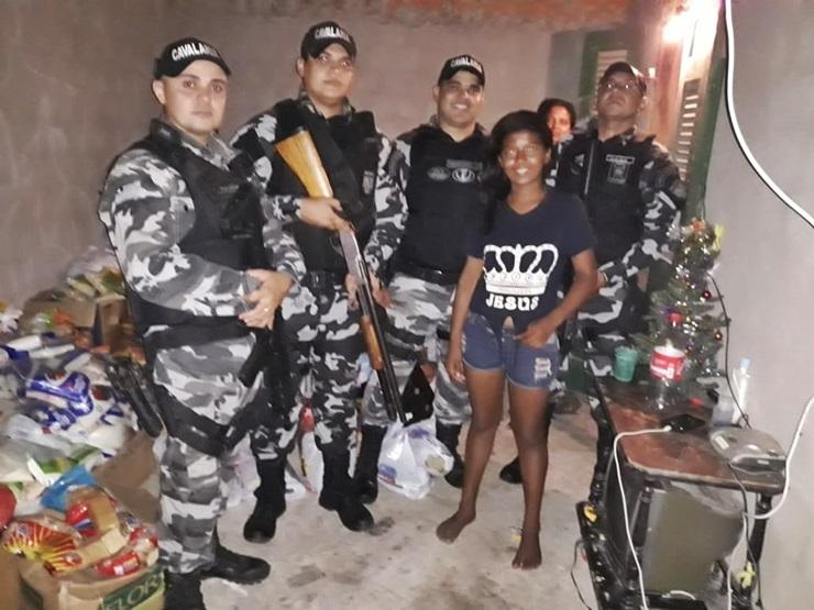 Policiais militares iniciam atividades com ação solidária em Parnaíba