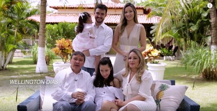 """""""Vamos vencer juntos"""" , diz Wellington Dias em mensagem de ano novo; confira o vídeo!"""