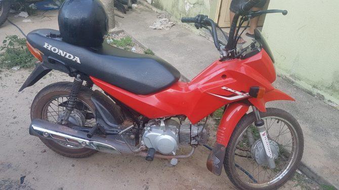 Homem é preso por receptação de motocicleta em Buriti dos Lopes