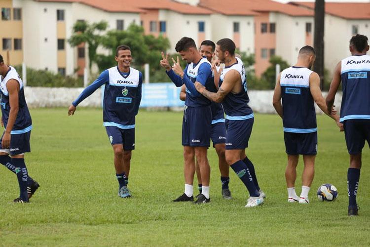 Em São Luís, Altos faz último treino antes da estreia na Copa do Nordeste