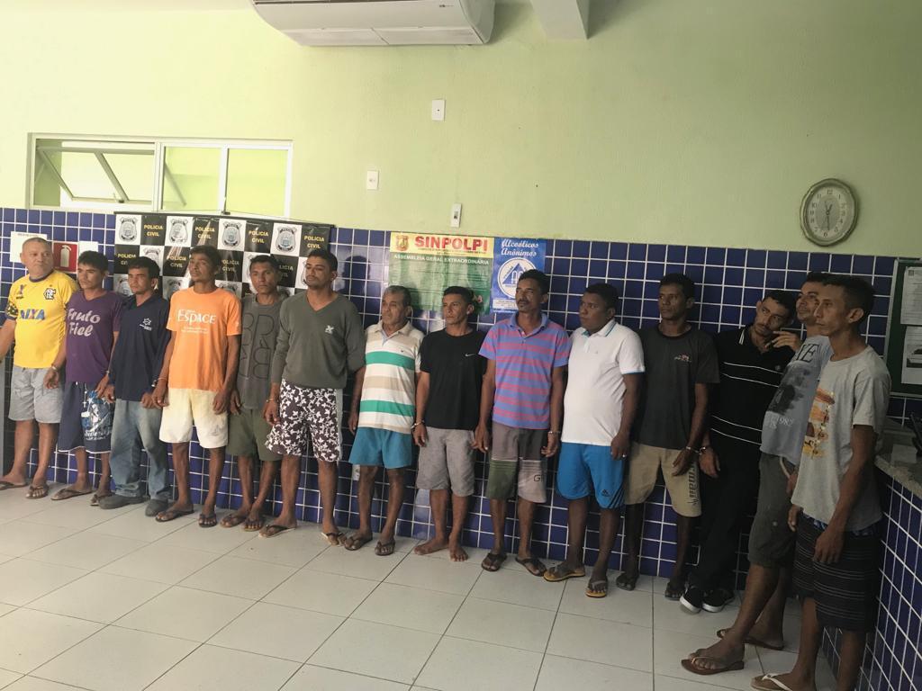 Polícia Civil do Piauí divulga balanço da Operação Gênese; 17 pessoas foram presas, em Parnaíba