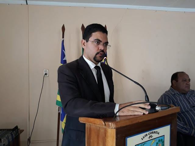 Câmara de Vereadores decide por arquivamento de processo contra Vereador Rafhael Silva, em Luís Correia