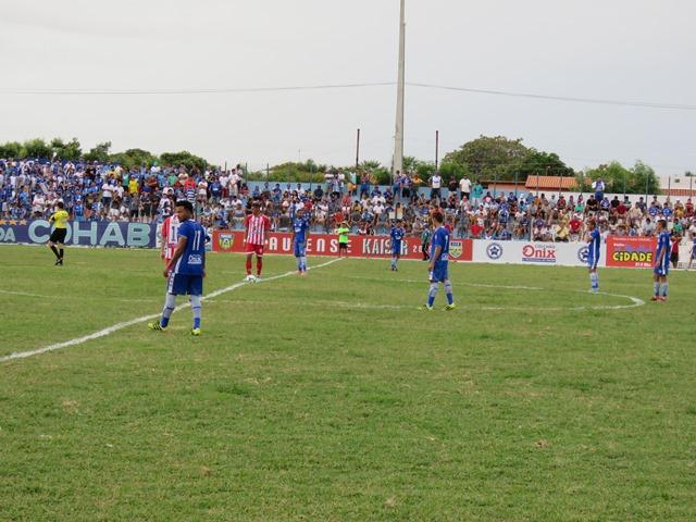 Parnahyba e 4 de Julho empatam sem gols no Pedro Alelaf