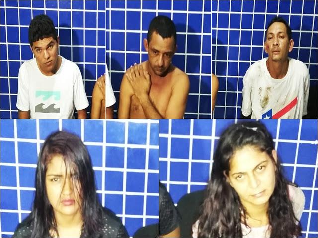 Presos traficantes que vendiam talco e pó de gesso como cocaína em Parnaíba