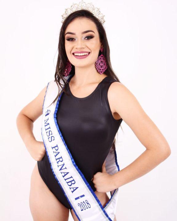 Parnaibana Amanda Aguiar é a grande destaque para o Miss Piauí 2019