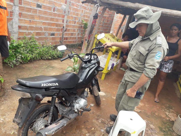 PM recupera seis veículos roubados na cidade de Joaquim Pires