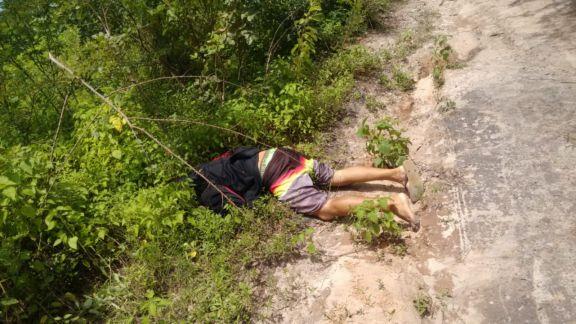 Corpo de homem é achado com marcas de tiros em ummatagal em Bom Princípio