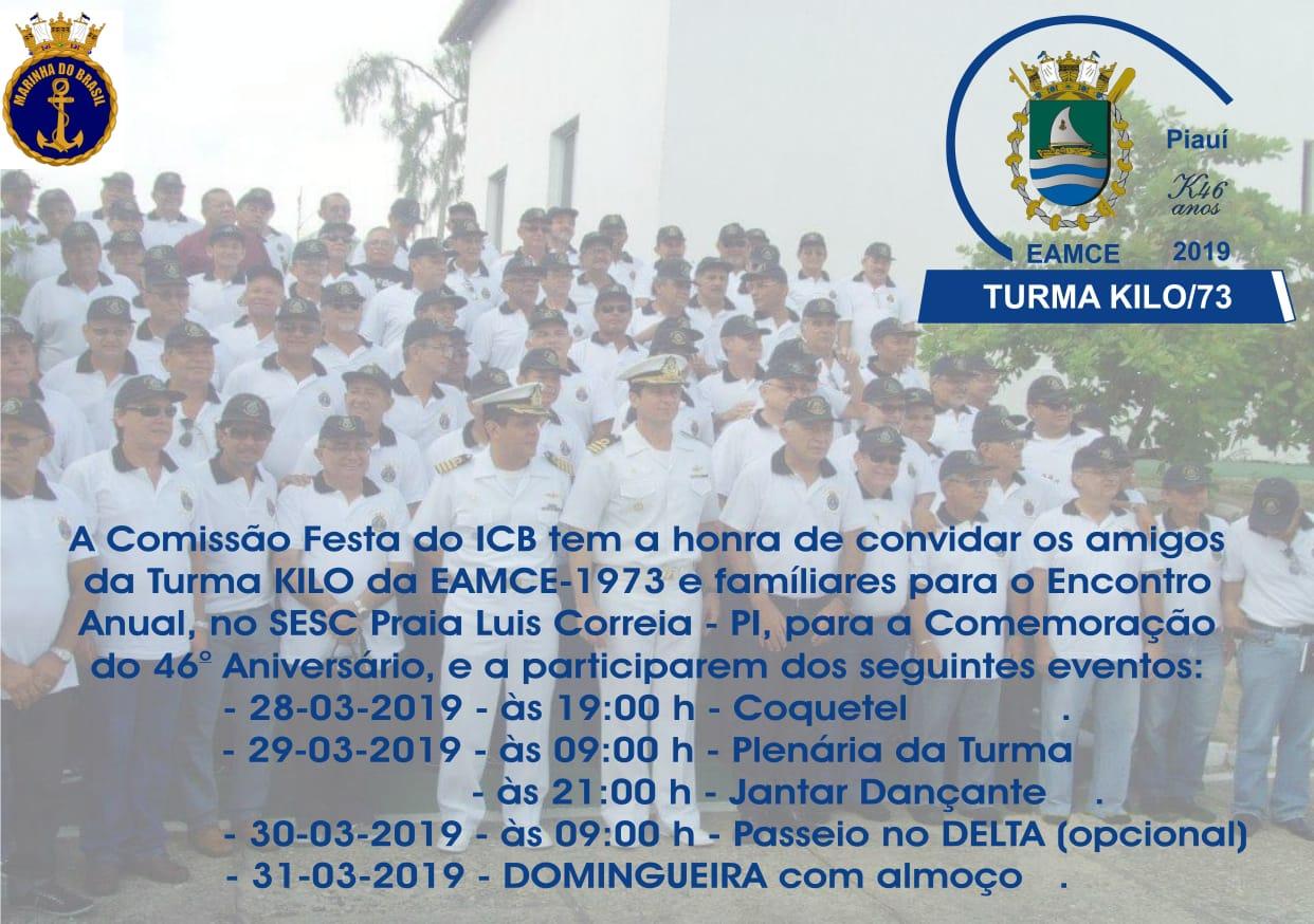 Marinha do Brasil realiza evento no litoral do Piauí nesta semana