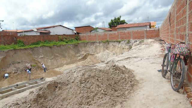 Construção do 2º piscinão pode a qualquer momento causar uma tragédia com vítimas em Parnaíba