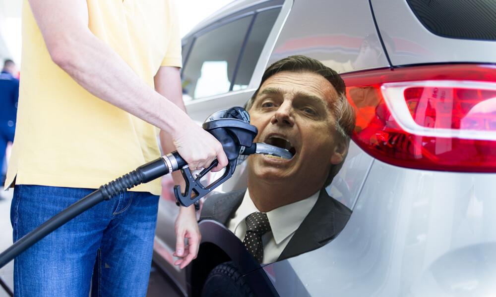 Petrobras aumenta o preço da gasolina em 4% nas refinarias após alta do dólar