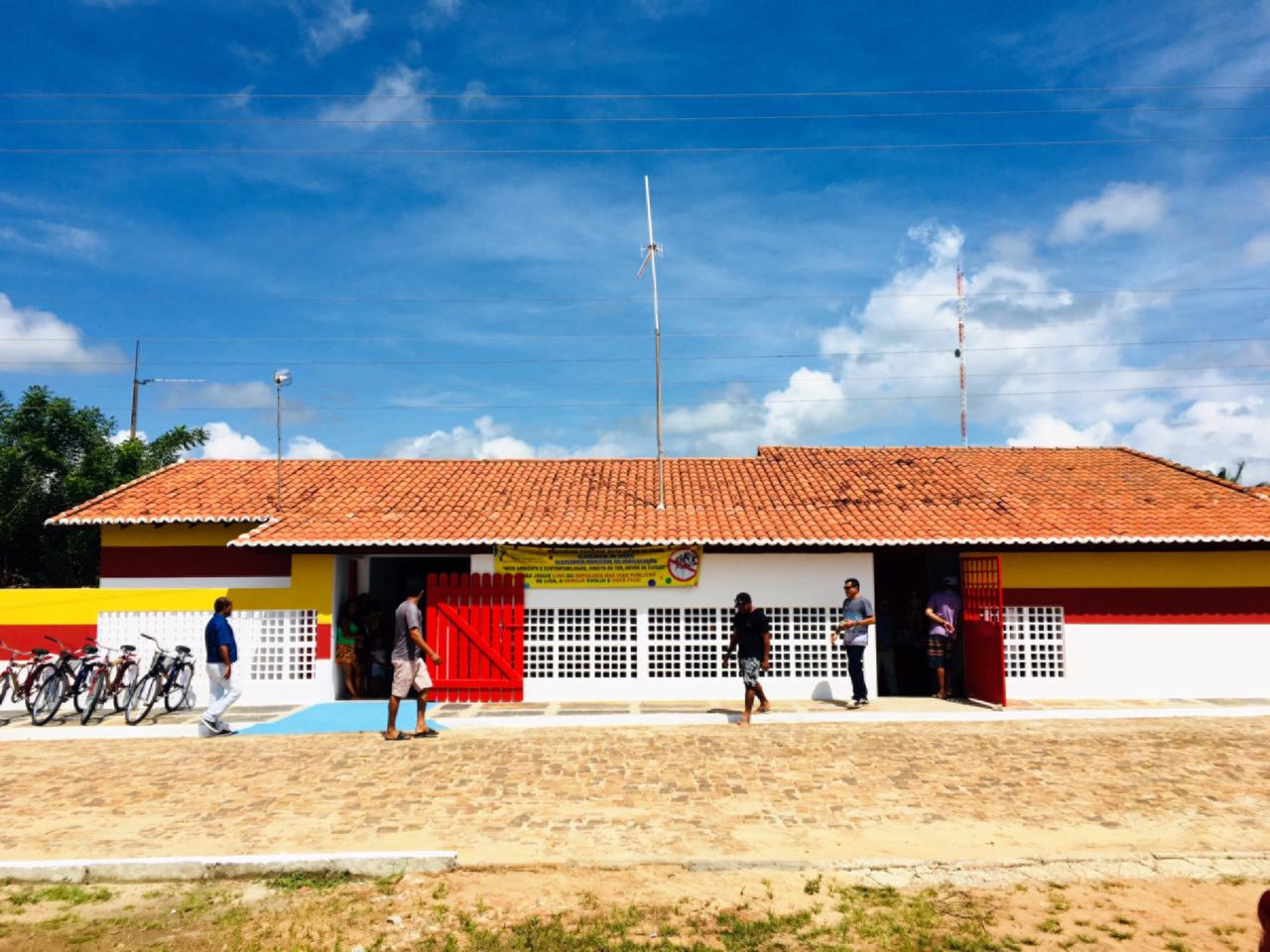 Unidade de Saúde de Boa vista é entregue a população após reforma realizada pela prefeitura de cajueiro da praia