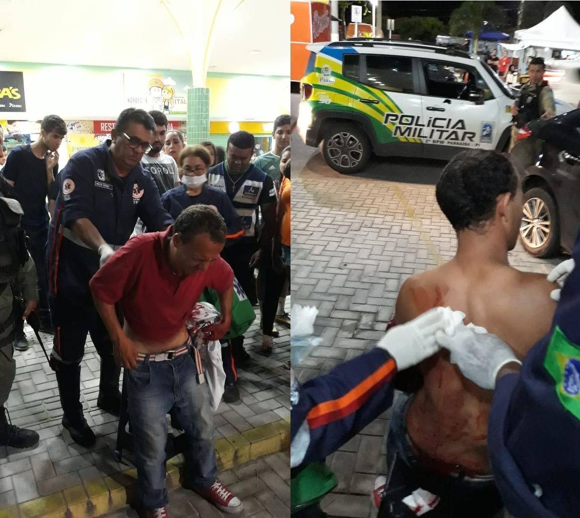 Homem é esfaqueado na Praça do Amor em Parnaíba