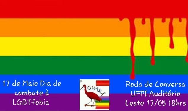 17 de maio Dia de combate à LGBTfobia