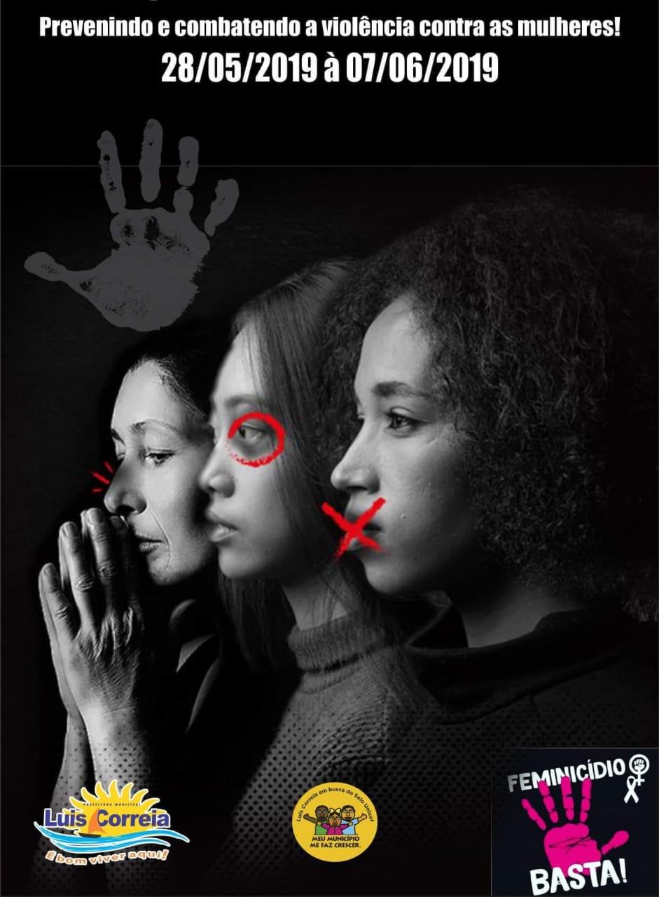 Selo UNICEF de Luís Correia realiza quinzena de combate ao Feminicídio